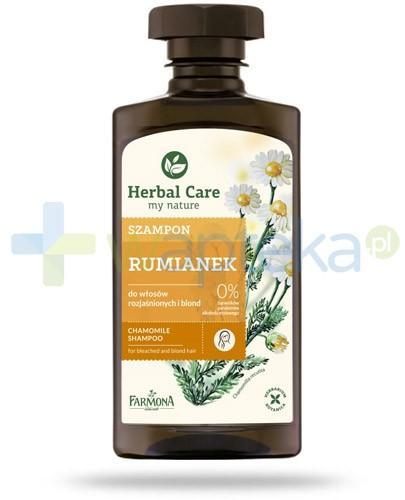 Farmona Herbal Care Rumianek szampon do włosów blond i rozjaśnionych 330 ml
