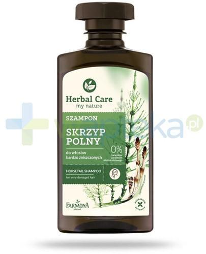 Farmona Herbal Care Skrzyp Polny szampon do włosów bardzo zniszczonych 330 ml