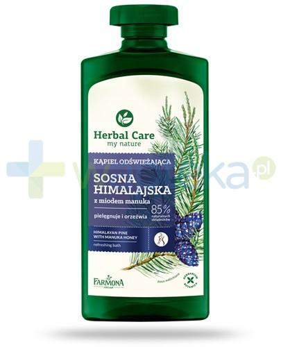 Farmona Herbal Care Sosna himalajska płyn do kąpieli z miodem manuka 500 ml