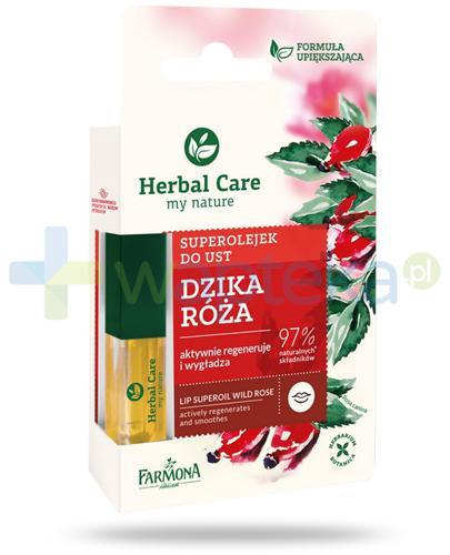 Farmona Herbal Care superolejek do ust dzika róża 5 ml