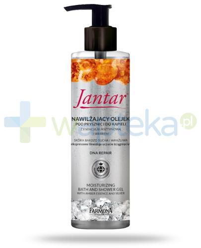 Farmona Jantar DNA Repair nawilżający olejek pod prysznic i do kąpieli z esencją bursztynową i srebrem 400 ml