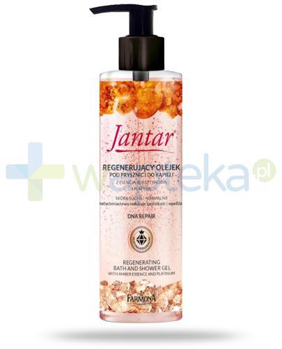 Farmona Jantar DNA Repair regenerujący olejek pod prysznic i do kąpieli z esencją bursztynową i platyną 400 ml