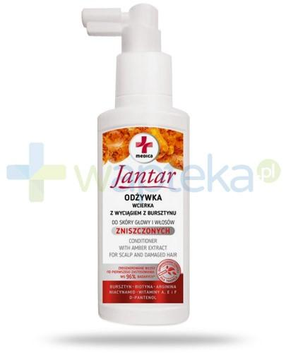 Farmona Jantar Medica odżywka wcierka z wyciągiem z bursztynu do głowy i włosów zniszczonych 100 ml