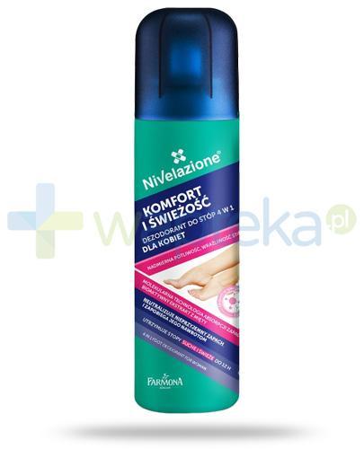 Farmona Nivelazione Komfort i świeżość dezodorant do stóp 4w1 dla kobiet 180 ml