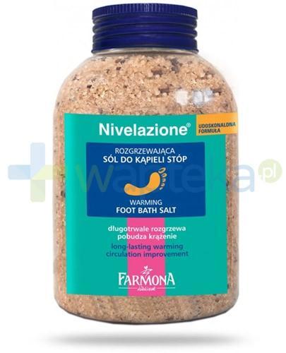 Farmona Nivelazione rozgrzewająca sól do kąpieli stóp 600 g