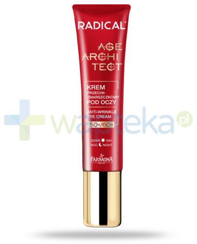 Farmona Radical Age Architect 50+ 60+ krem przeciwzmarszczkowy pod oczy na dzień i na noc 15 ml