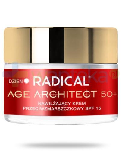 Farmona Radical Age Architect 50+ nawilżający krem przeciwzmarszczkowy SPF15 na dzień 50 ml