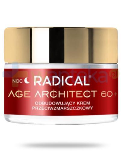 Farmona Radical Age Architect 60+ odbudowujący krem przeciwzmarszczkowy na noc 50 ml