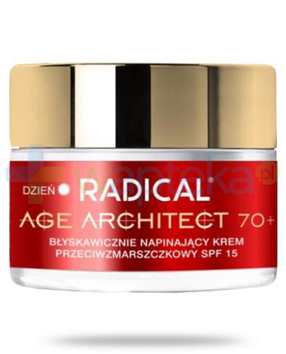 Farmona Radical Age Architect 70+ błyskawicznie napinający krem przeciwzmarszczkowy SPF15 na dzień 50 ml