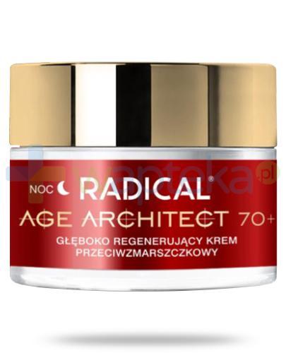 Farmona Radical Age Architect 70+ głęboko regenerujący krem przeciwzmarszczkowy na noc 50 ml