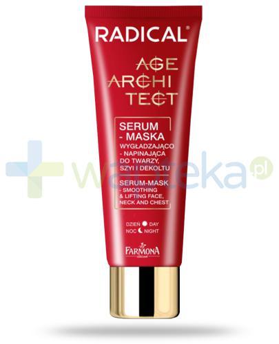 Farmona Radical Age Architect serum maska wygładzająco-napinająca na dzień i na noc do twarzy, szyi i dekoltu 50 ml