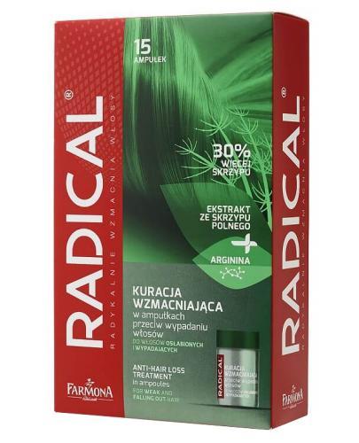 Farmona Radical Kuracja wzmacniająca przeciw wypadniu włosów, ampułki 15x 5 ml