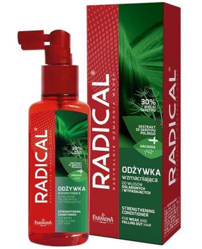 Farmona Radical odżywka wzmacniająca do włosów osłabionych i wypadających 100 ml