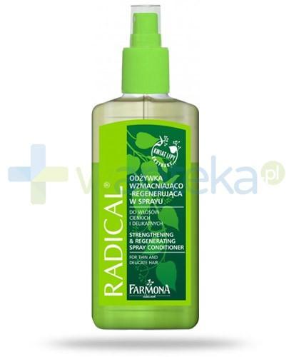 Farmona Radical odżywka wzmacniająco regenerująca do włosów cienkich i delikatnych 200 ml