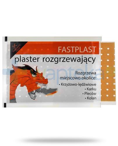 FastPlast plaster rozgrzewający 12cm x 18cm 1 sztuka