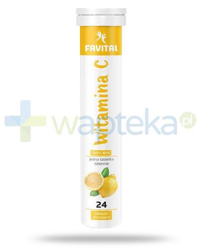 Favital witamina C 1000mg 24 tabletki