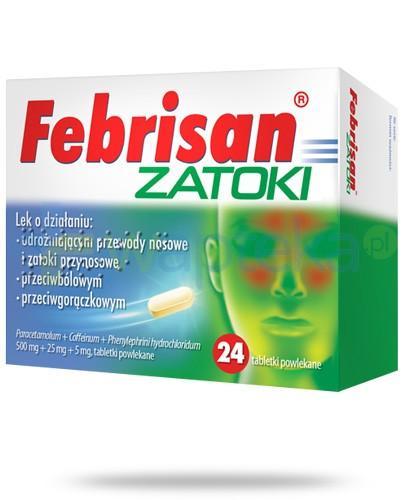 Febrisan Zatoki 24 tabletki