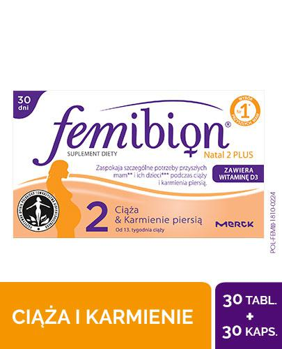 Femibion Natal 2 Plus 30 tabletek + 30 kapsułek