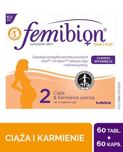 Femibion Natal 2 Plus 60 tabletek + 60 kapsułek