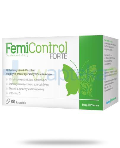 FemiControl Forte 60 kapsułek