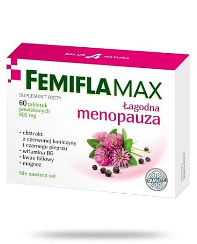 FemiFlaMax łagodna menopauza 60 tabletek