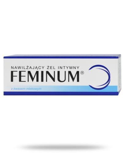 Feminum nawilżający żel intymny z kwasem mlekowym 40 g
