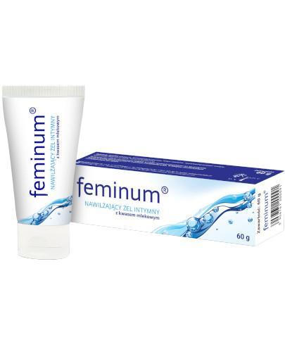 Feminum nawilżający żel intymny z kwasem mlekowym 60 g