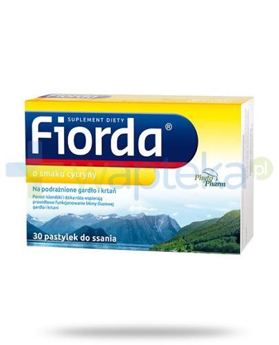 Fiorda o smaku cytryny 30 pastylek