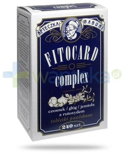 Fitocard Complex 240 tabletek