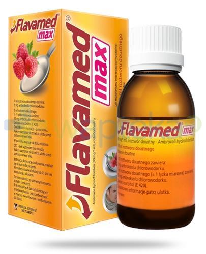 Flavamed Max 30mg/5ml roztwór doustny 100 ml