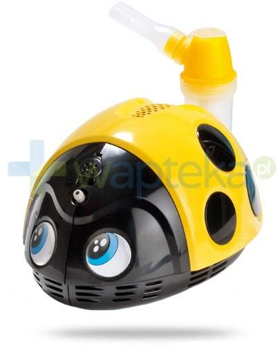 Fleam Magic Care Mr. Beetle Biedronka inhalator tłokowy kolor żółty 1 sztuka