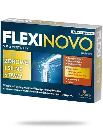 Flexinovo zdrowe i silne stawy 30 tabletek