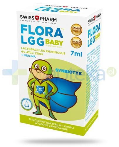 Flora LGG Baby synbiotyk, krople 7 ml