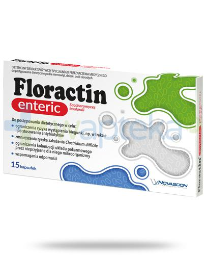 Floractin Enteric 15 kapsułek