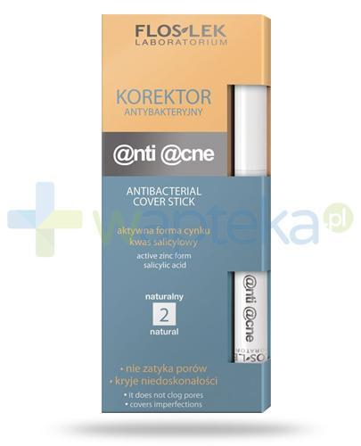 Flos-Lek Anti Acne korektor antybakteryjny naturalny 1 sztuka