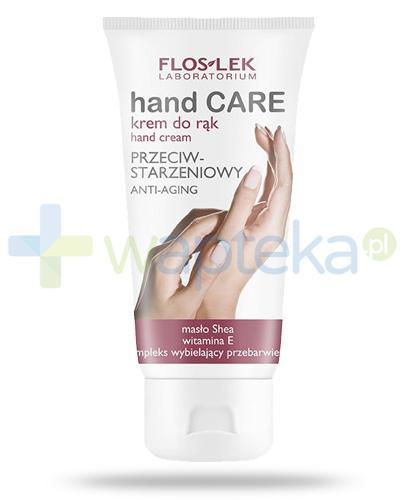 Flos-Lek Hand Care przeciwstarzeniowy krem do rąk 75 ml