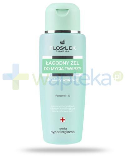 Flos-Lek Hypoalergiczny łagodny żel do mycia twarzy do skóry wrażliwej 150 ml