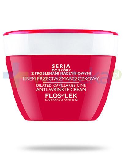 Flos-Lek krem przeciwzmarszczkowy do skóry z problemami naczynkowymi 50 ml