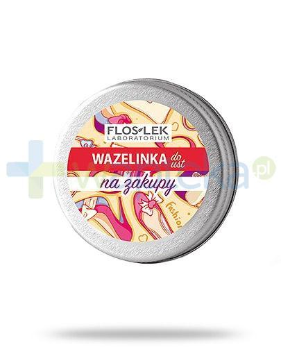 Flos-Lek Na zakupy wazelinka do ust 15 g