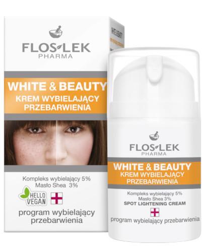 Flos-Lek White & Beauty krem wybielający przebarwienia 50 ml