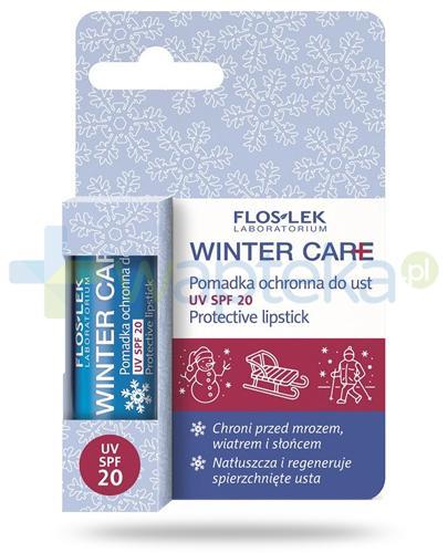 Flos-Lek Winter Care pomadka ochronna do ust UV SPF20