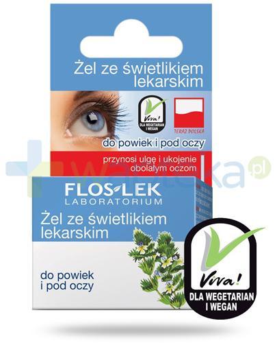 Flos-Lek żel do powiek i pod oczy ze świetlikiem lekarskim 10 g