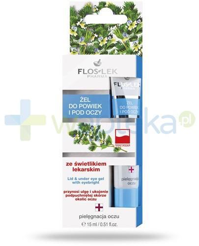 Flos-Lek żel pod oczy i na powieki ze świetlikiem lekarskim 15 ml