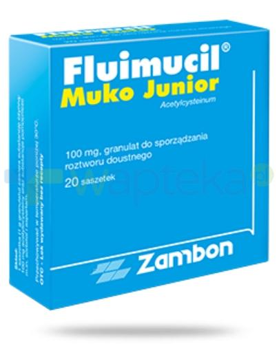 Fluimucil Junior 100mg 20 saszetek
