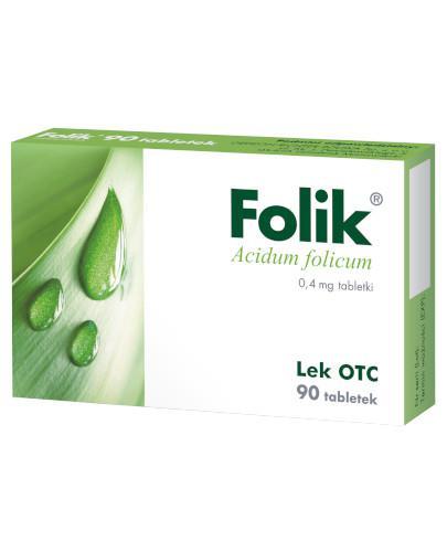 Folik 0,4mg 90 tabletek