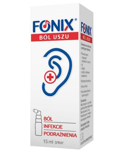Fonix Ból Uszu Compositum spray do uszu 15 ml