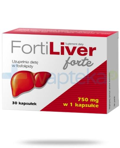 Fortiliver Forte 750mg 30 kapsułek
