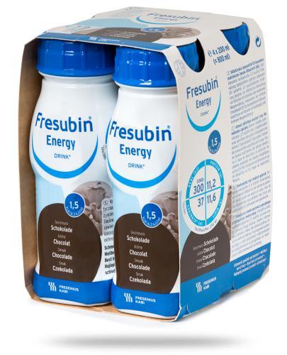 Fresubin Energy Drink Czekolada dietetyczny środek spożywczy 4x 200 ml