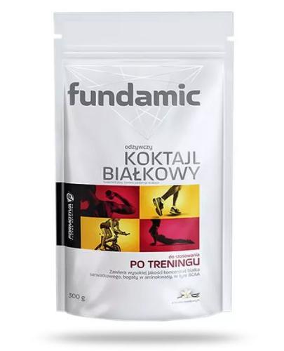 Fundamic odżywczy koktajl białkowy po treningu smak waniliowy 300 g [Kupując 2 sztuki = bidon Fundamic GRATIS] [Data ważności 30-09-2018]