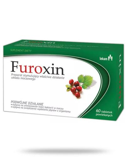 Furoxin 0,63 g 60 tabletek